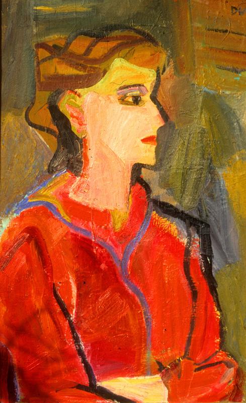 Portrait (Oil, portraits) - Fine Art by Donald G. Vogl, Fort Collins, Colorado