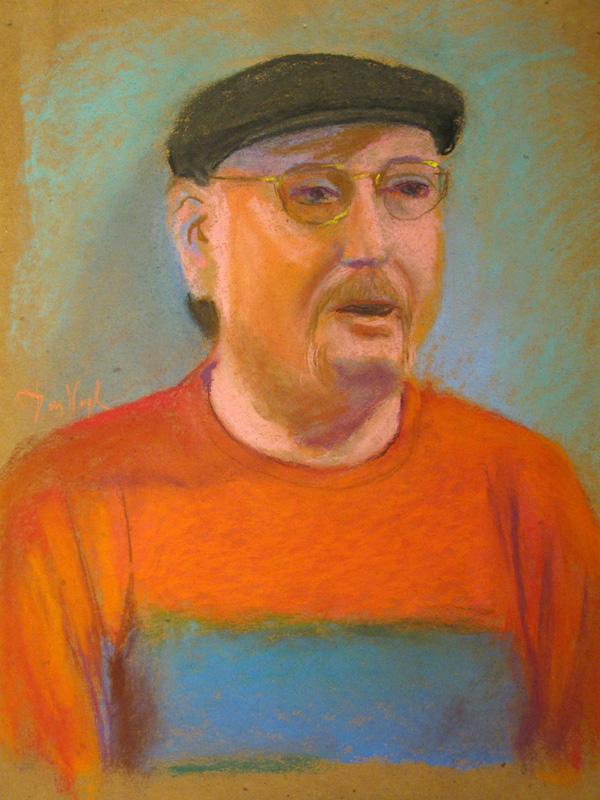 Portrait (Pastel, portraits) - Fine Art by Donald G. Vogl, Fort Collins, Colorado