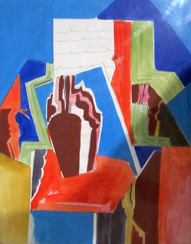 Signal Still Life (Acrylic, abstracts) - Fine Art by Donald G. Vogl, Fort Collins, Colorado