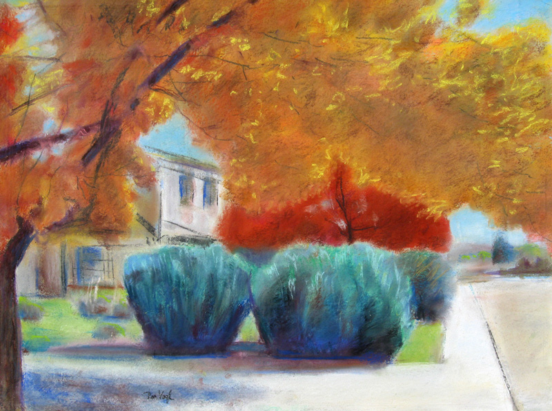 TranquilityColorado (Pastel, landscapes) - Fine Art by Donald G. Vogl, Fort Collins, Colorado