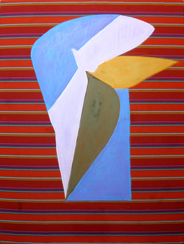 Wing Forms (Acrylic, abstracts) - Fine Art by Donald G. Vogl, Fort Collins, Colorado