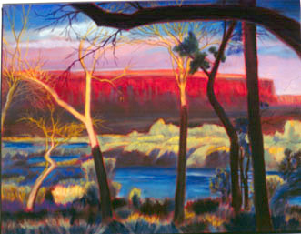 Marble CanyonArizona (Pastel, landscapes) - Fine Art by Donald G. Vogl, Fort Collins, Colorado
