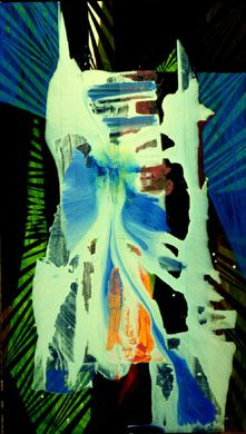 Tryst (Acrylic, abstracts) - Fine Art by Donald G. Vogl, Fort Collins, Colorado